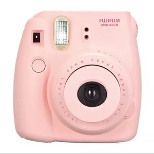 Fujifilm Instax Mini 8 Instant Camera - Blush Pink
